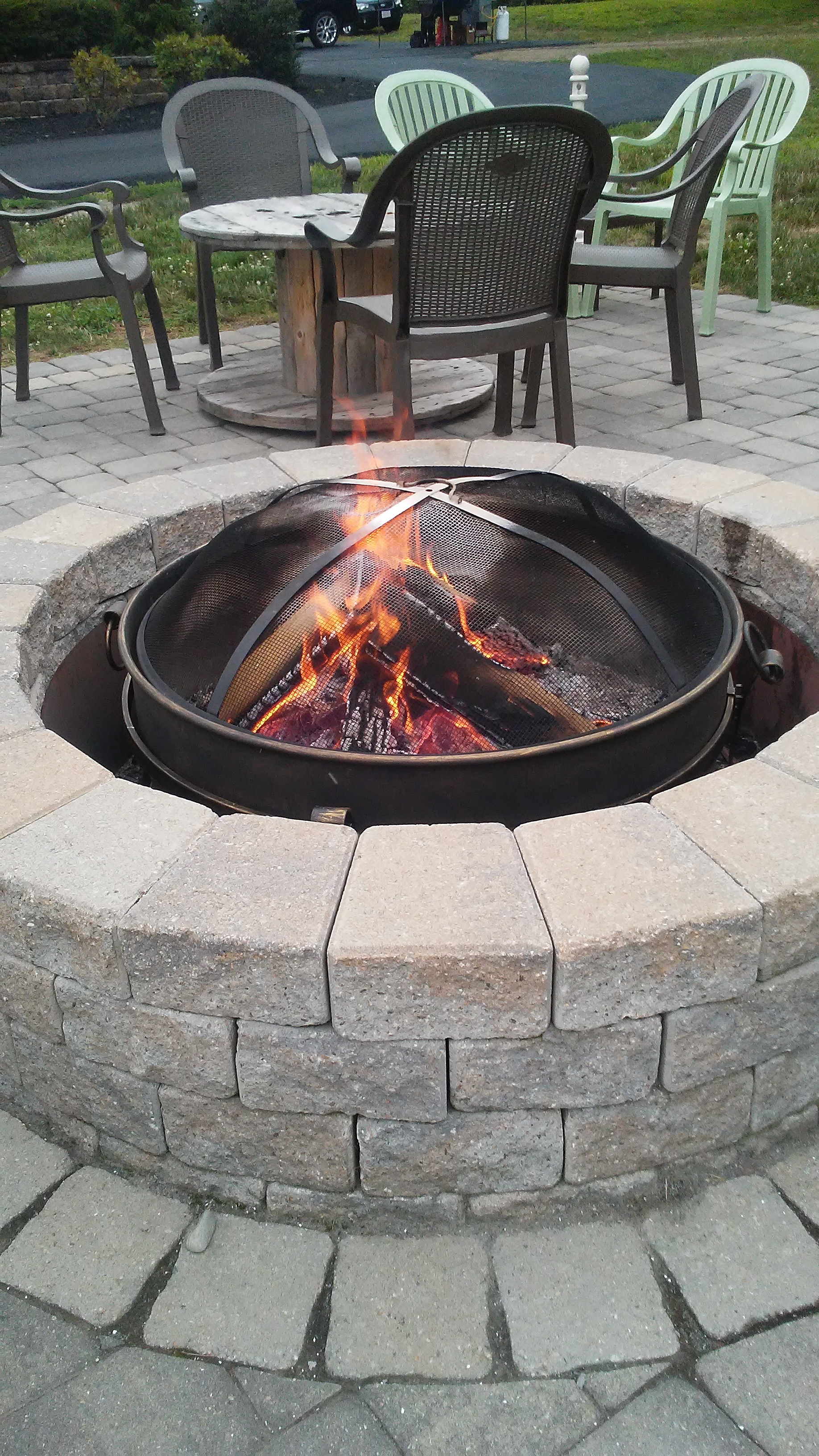 fire pit at The 228
