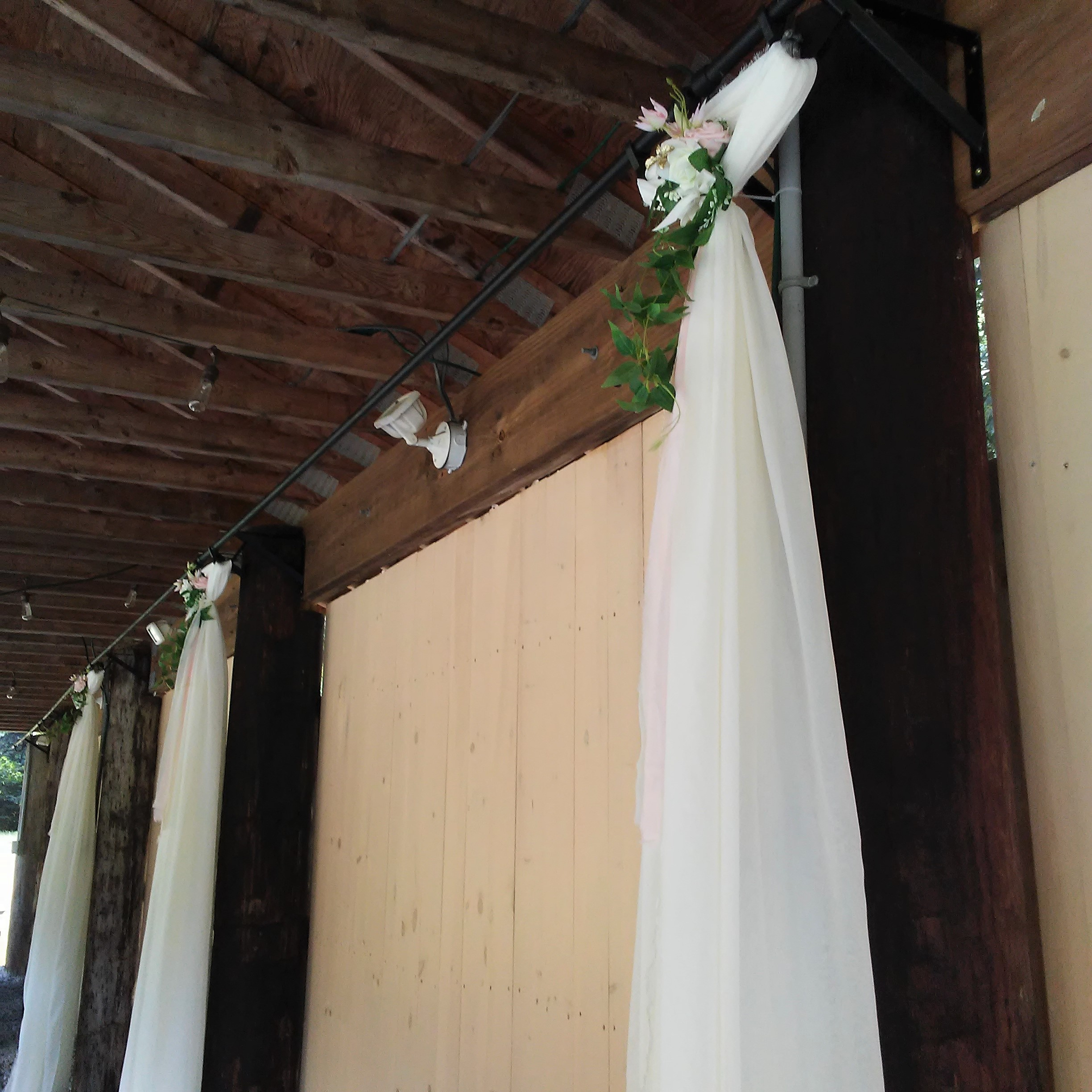 Decor ideas for the pavilion at The 228