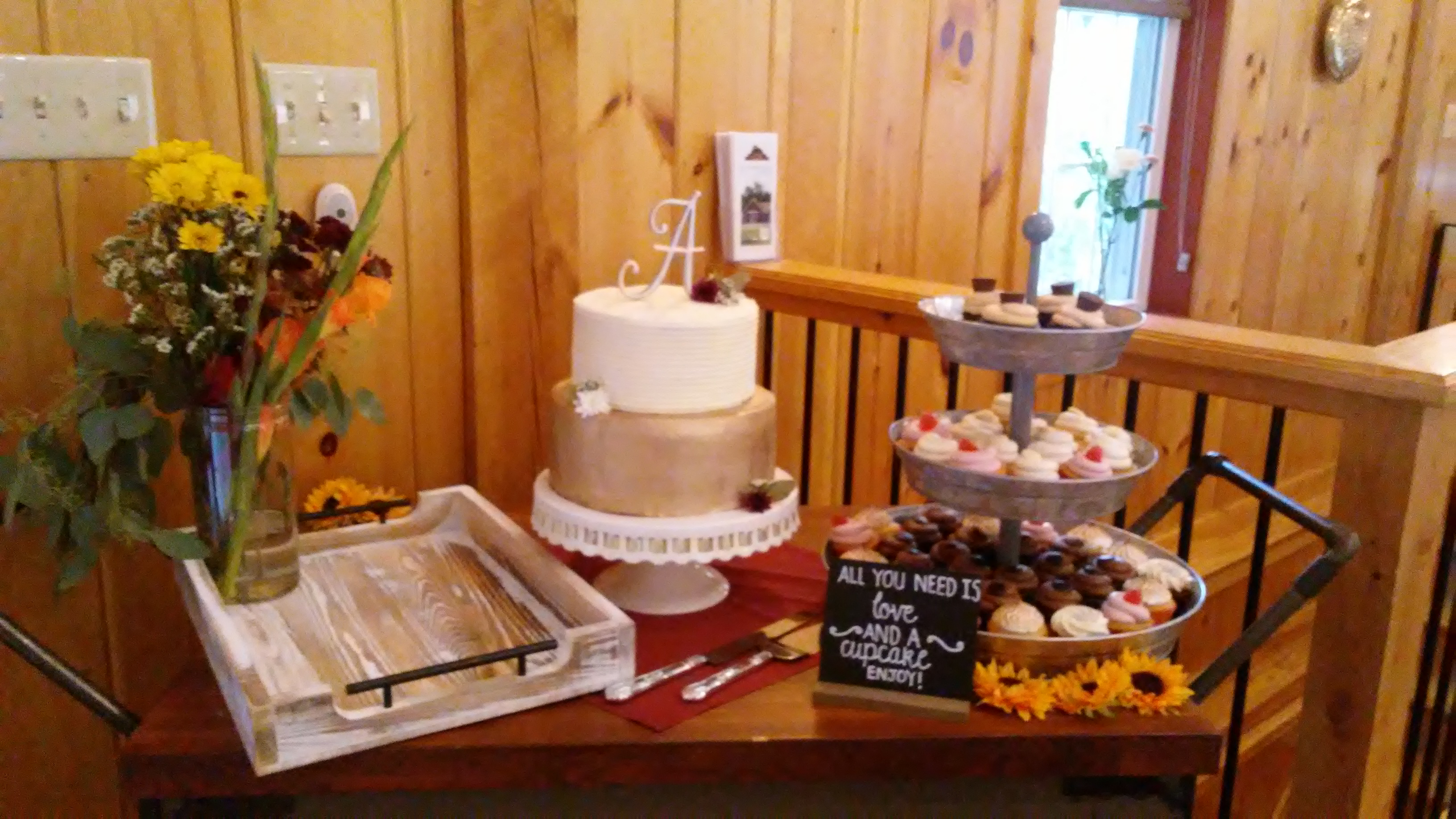 wedding desserts at The 228