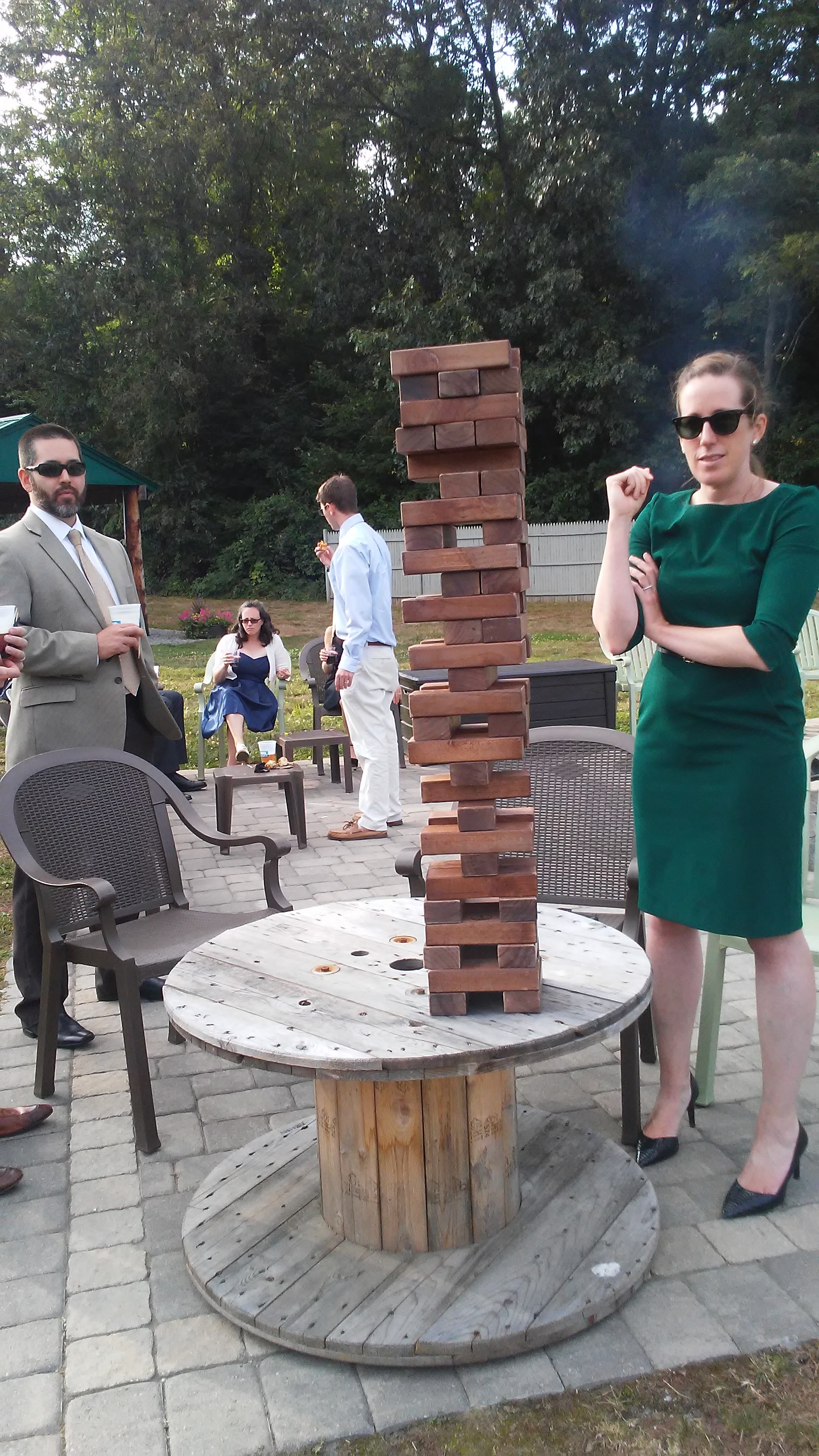 wedding Jenga at The 228