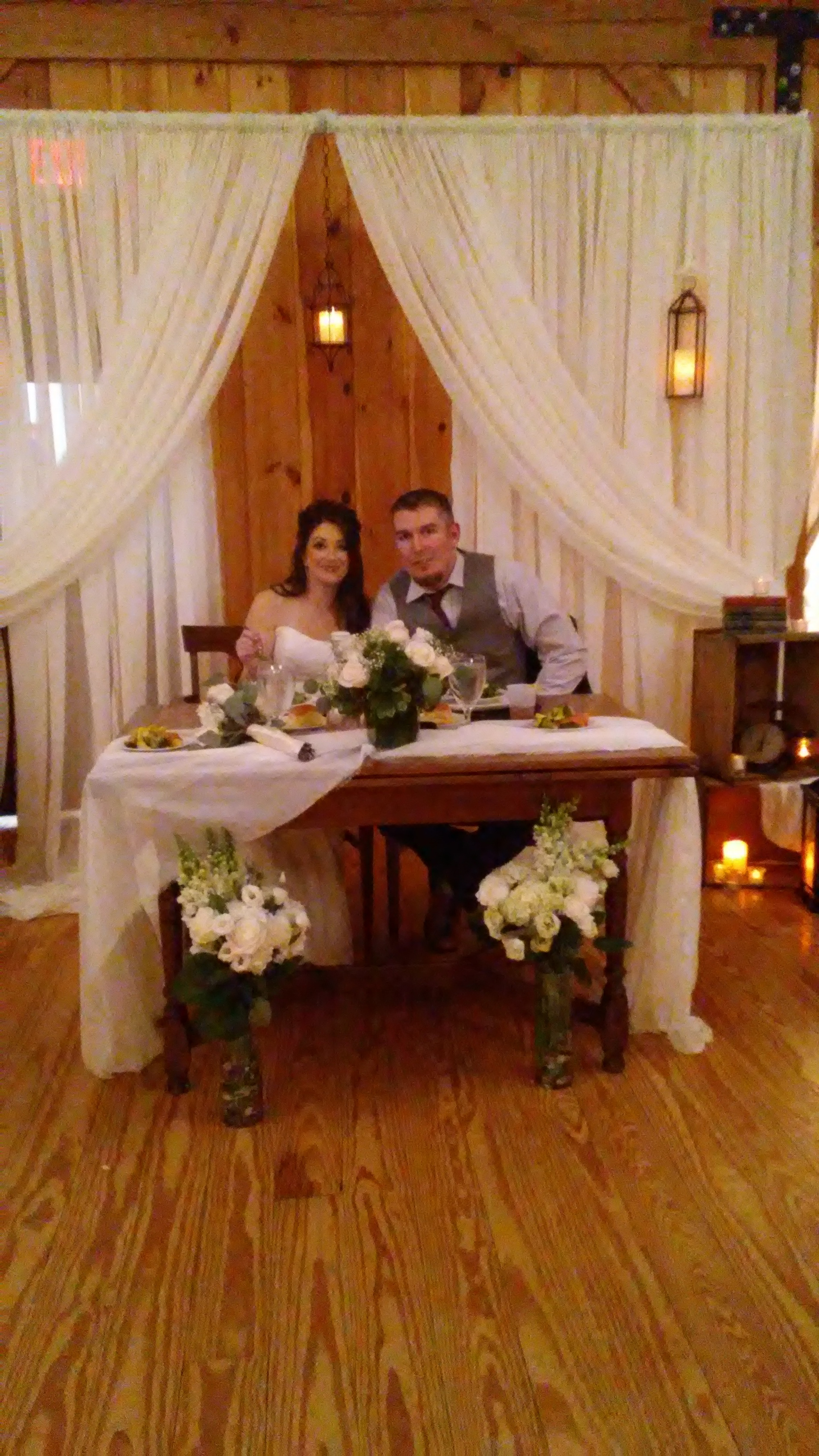 wedding reception at The 228
