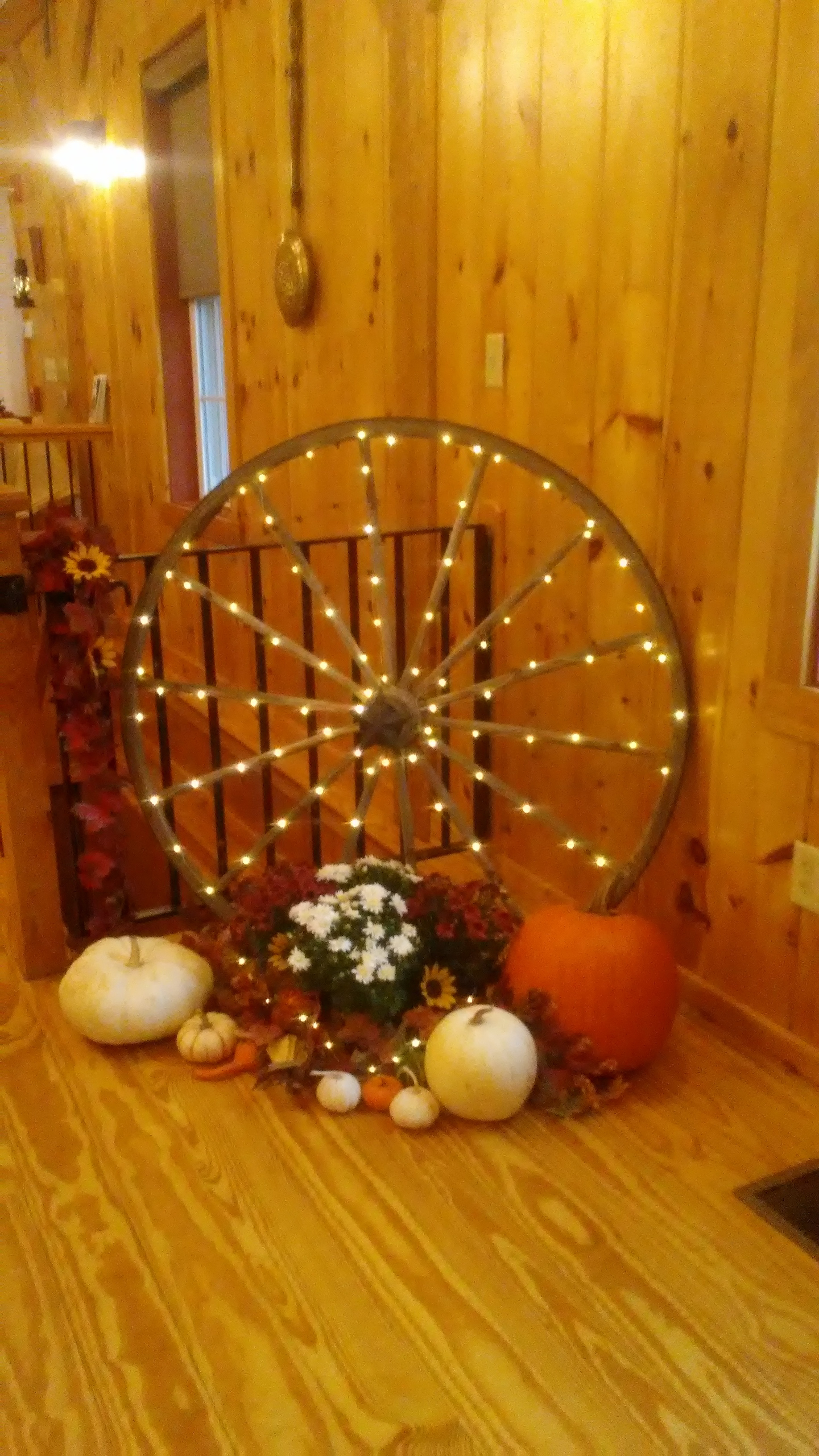 fall-themed wedding at The 228